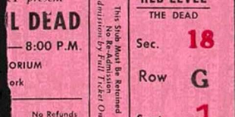 Grateful Dead in Buffalo – 1973