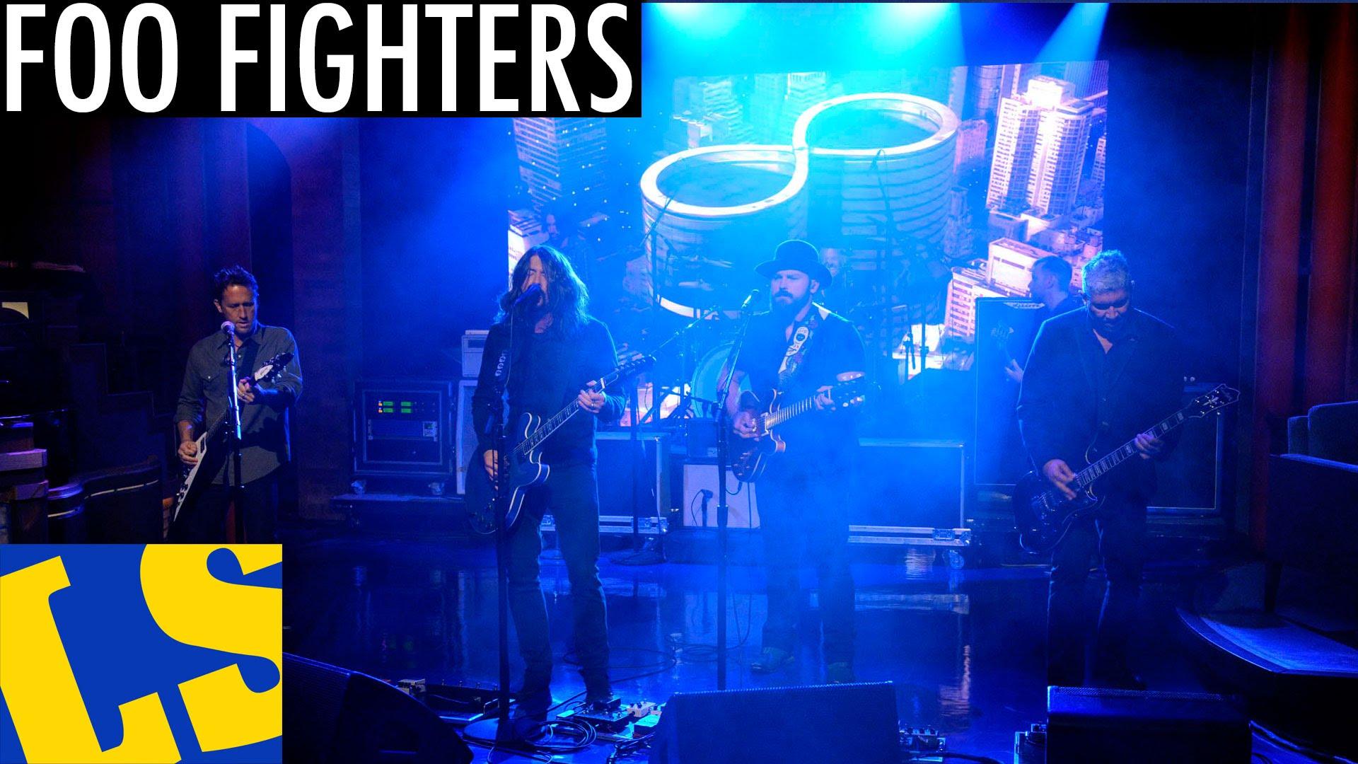 DVR REWIND: Foo Fighters on Letterman – War Pigs
