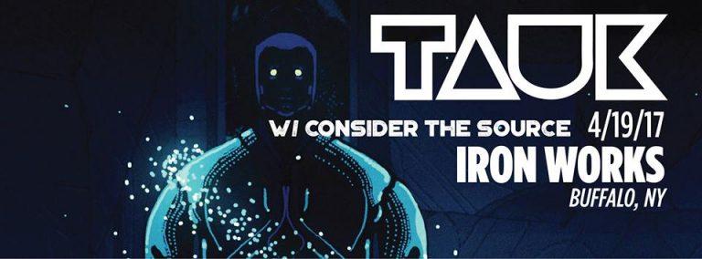 LIVE ALERT: TONIGHT! TAUK (10:30pm) & Consider the Source